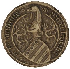 Sceau de Pierre de la Viefville (sigilla)