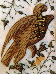La devise de l'aigle à la croix double, Heures de René d'Anjou