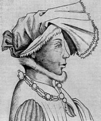 Portrait de Wenceslas de Luxembourg portant le collier de la Cosse de genêt.
